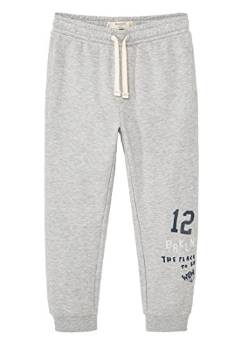 mango-kids-pantalon-de-jogging-pantalon-jaspe-taille9-10-ans-couleurgris-chine-moyen