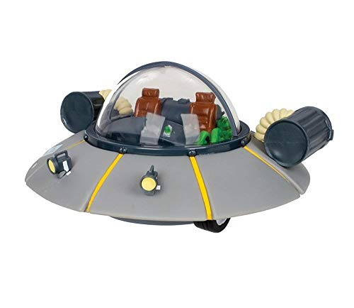Rick and Morty Space Cruiser Vinyl Coin Bank