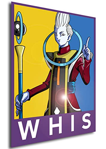 Instabuy Posters Propaganda - Super Dragon Ball - WHIS Color (Poster 70x50)