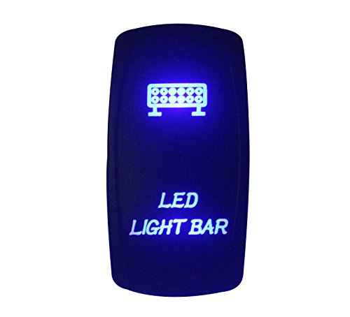 carling switch le meilleur prix dans amazon savemoney esbandc 12 v 24 v led barra de luz láser grabado rocker interruptor led azul