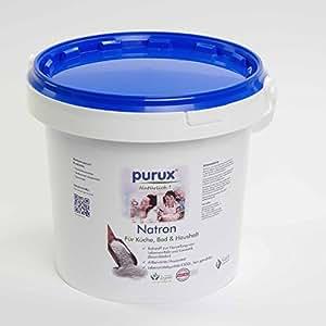 Natron 1 kg Natriumhydrogencarbonat NaHCO3 Natriumbicarbonat E500 ii Backsoda