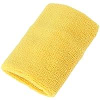 healifty Sport Schweißband Bands Athletic Cotton Frottee saugfähigen Armbänder für Gym Sport (gelb) preisvergleich bei billige-tabletten.eu