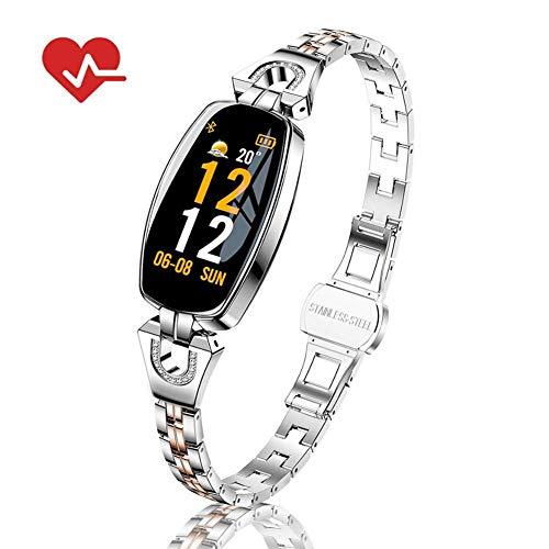 Dingmart-Smart Armband HD Farbdisplay Wettervorhersage Wasserdichte Herzfrequenz Blutdruck Gesundheit Test Weiblichen Armband