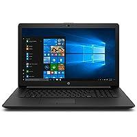 "2020 HP 17.3"" HD+ Premium Laptop Computer, AMD Ryzen 5 3500U Quad-Core Up to 3.7GHz, 12GB DDR4 RAM, 256GB SSD, DVDRW, AMD Radeon Vega 8, 802.11ac WiFi, Bluetooth 4.2, USB 3.1, HDMI, Black, Windows 10"