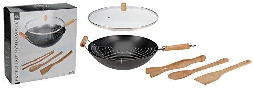 wok-set-6-pieces-oe-35-cm-3-ustensiles-de-cuisine-en-bois-avec-couvercle-en-verre-noir-milumi-editio
