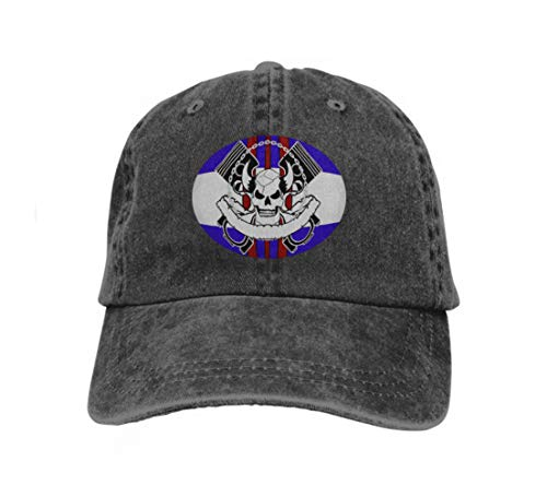 Hip Hop Baseball Cap Hat for Boys Girls Racer Chopper Skull Insignia Background Very Easy to Edit Kawaii - Racer Boy Kostüm