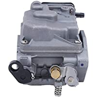 Carburador de Motor Fuera de borda de Barco de 2 Tiempos 15HP 6B4, Accesorio de aleación de Aluminio de carburador de Motor de Barco