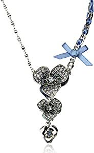 Guess Pendant Necklaces for Women,Stainless Steel - UBN31304N