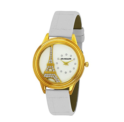 Grandson Eiffel Tower Analog Watch For Girl's And Women