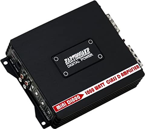Earthquake Sound MiNi-D1000 1000W Mono Subwoofer Amplifier