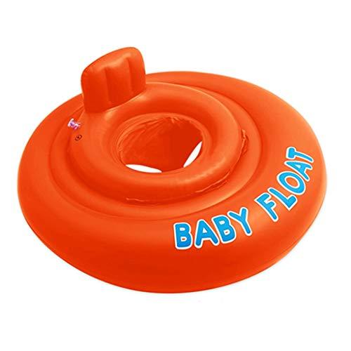 RJ Home Verdickte aufblasbare kindersitz Baby Kind rettungsring schwimmring unterarm Sitz Schwimmbad Wasser Strand Toys (Color : Orange)