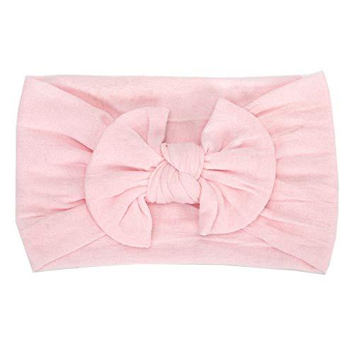 erthome 1 stück niedlichen Baby Kleinkind säuglings Bowknot Stirnband Haarband Headwear (Damen-jacke Rosa Kleinkind Für)