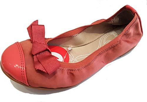 Garvalin - Bailarinas Tela niña Satin-Koralle, Color
