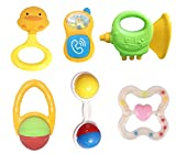 #9: Jiada Birthday Non Toxic Rattle Set Of 6 Pcs - Multicolour