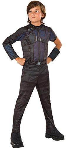 erdbeerloft - Jungen Karneval Kostüm Hawkeye, Dunkelblau, Größe 98-104, 3-4 (Kostüm Hawkeye Halloween)