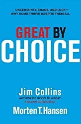 [(Great by Choice : Uncertainty, Chaos and Luck - Why Some Thrive Despite Them All)] [By (author) Jim Collins ] published on (October, 2011)