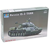 Trumpeter 1/72 JS-3 Stalin Heavy Russian Tank by Trumpeter