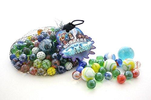 1000g Murmeln Odysseus dekorative Glasmurmeln Knicker Marbles verschiedene Größe