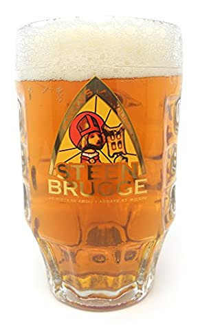Steen Brugge Large Stein Glass Tankard 23 Ounce [660 Millilitre] (1 Glass)