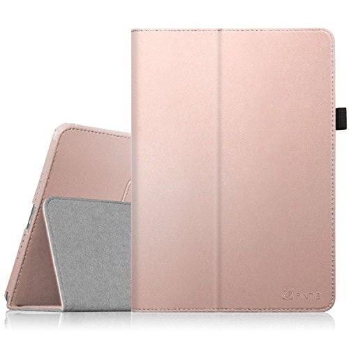 Fintie Apple iPad mini 1 / 2 / 3 Hülle - Slim Fit Foilo Kunstleder Schutzhülle Tasche Etui Case Cover mit Auto Schlaf / Wach, Standfunktion für iPad Mini / iPad Mini 2 / iPad Mini 3, Roségold (Ipad 2 Mini 16gb Wifi)