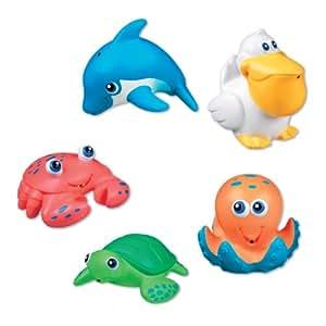Munchkin 011102 Munchkin 5 Sea Squirts Badespielzeug Badespass