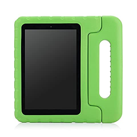 Fire HD 7 2014 Case - MoKo Kids Shock Proof Convertible Handle Light Weight Super Protective Stand Cover Case for Amazon Kindle Fire HD 7 Inch 4th Generation Tablet (Not Fits Fire 7 2015),