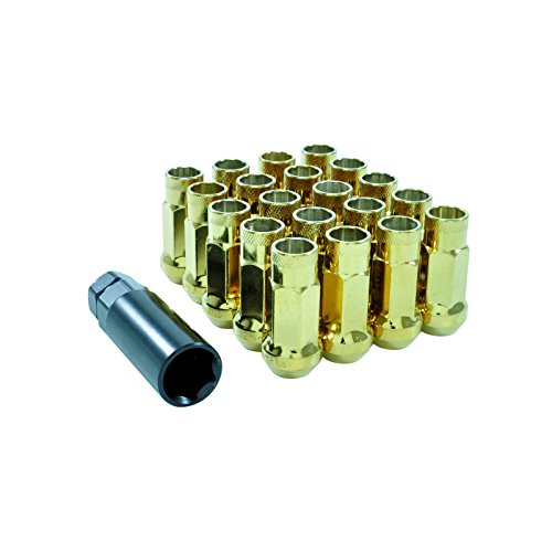 dpPerformance Lug Nuts Stahl M12x1,5 Radmuttern Gold JDM