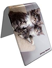 Stray Decor (Kitty Cats 2) Étui à Cartes / Porte-Cartes pour Titres de Transport, Passe d'autobus, Cartes de Crédit, Navigo Pass, Passe Navigo et Moneo