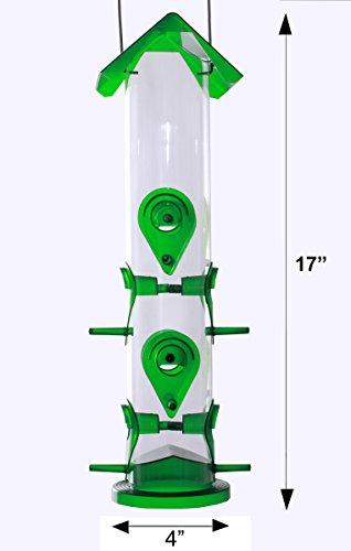 saatgut-tube-wildvogel-futterstation-fuer-voegel-ideal-fuer-den-garten-dekoration-grosse-vogel-voegel-fuer-kleine-und-mittlere-vogelhaus-zum-aufhaengen-leicht-zu-reinigen-und-spass-und-tolle-idee