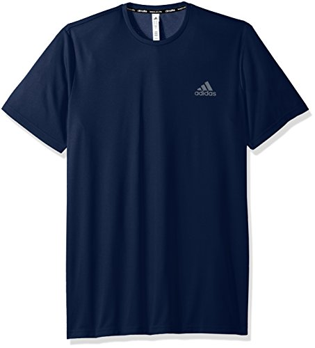 Adidas Mens Essentials Tech Tee- Big & Tall Collegiate Navy