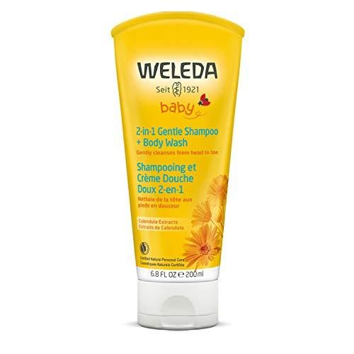 Caléndula baby wash cuerpo y cabellos Weleda
