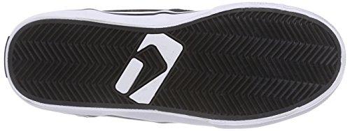 Globe Motley Unisex-Erwachsene Hohe Sneakers Schwarz (10836 black/white Fur)
