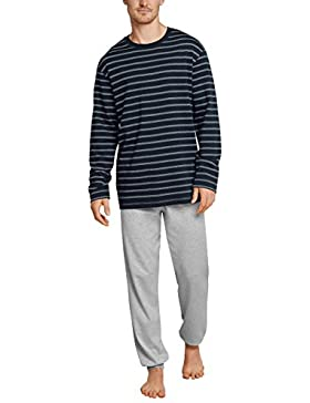 Schiesser Family Anzug Lang, Conjuntos de Pijama para Hombre