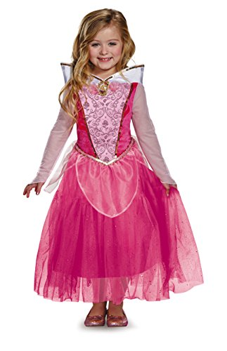 xe Disney Princess Sleeping Beauty Costume, Small/4-6X (Sleeping Beauty Deluxe Kostüm)