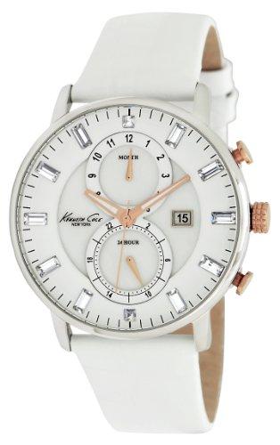 kenneth-cole-kc2689-dress-sport-montre-femme-quartz-analogique-cadran-argent-bracelet-cuir-noir