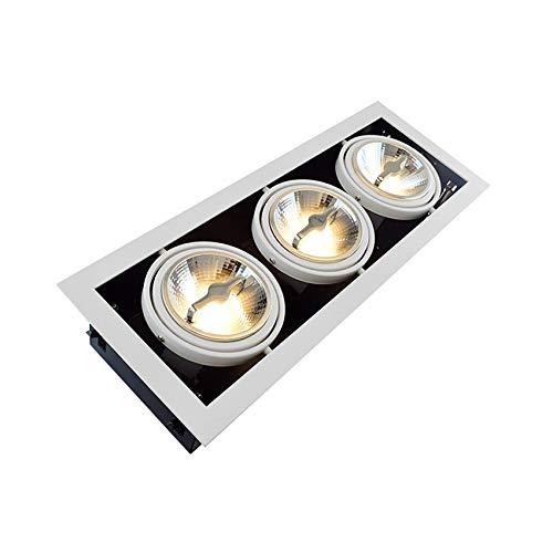 Foco LED CREE-COB Direccionable AR111 45W Regulable Blanco Neutro 4000K efectoLED
