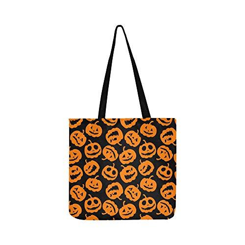 Halloween Urlaub Leinwand Tote Handtasche Schultertasche Crossbody Taschen Geldbörsen für Männer und Frauen Einkaufstasche -