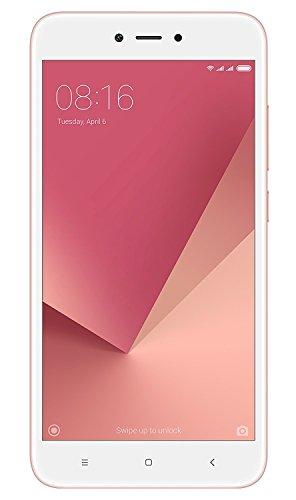 Xiaomi Redmi Note 5A Smartphone da 16 GB, Rosa/Oro [Italia]