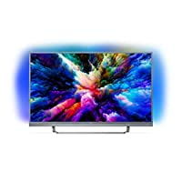 "Philips 55PUS7503/62 4K Ultra HD Android Ambilight LED TV (139 cm (55""), 3840 x 2160 piksel, LED, Smart TV, Wi-Fi, Ambilight, Gümüş), 55"""