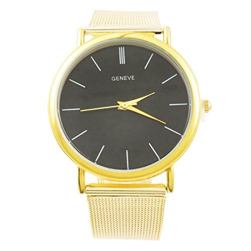 Souarts Herren Armbanduhr Geschäft Lässig Analog Quarz Uhr mit Batterie