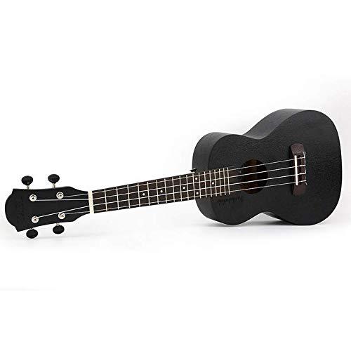Sanqing 23-Zoll-Ukulele, Ukulele-Gitarre, Sapele Holz Ukulele, schwarz,23inch -