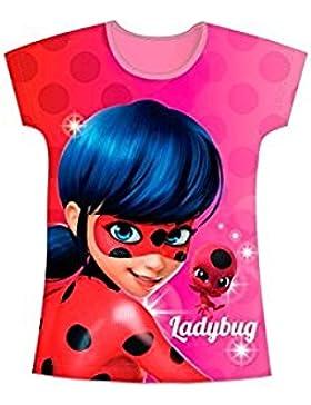 Miraculous Ladybug Mädchen T-Shirt rosa Rose