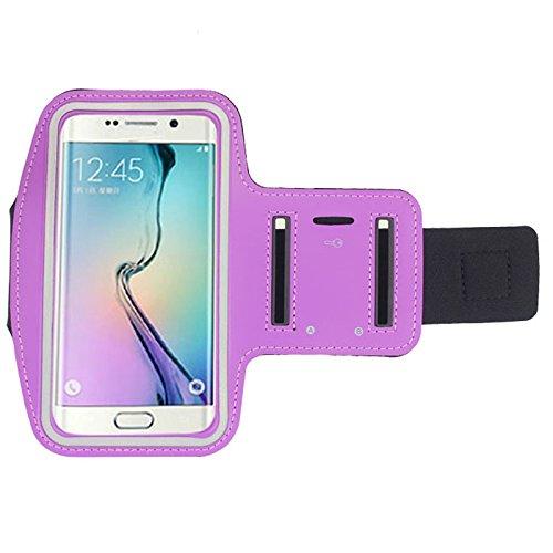 inShang Samsung Galaxy S3 S4 S5 Armband Für Sport Gymnastik laufender Joggen Wandern, Radfahren, bung Fall-Abdeckung Sport ArmBand für Samsung Galaxy S3 S4 S5 purple
