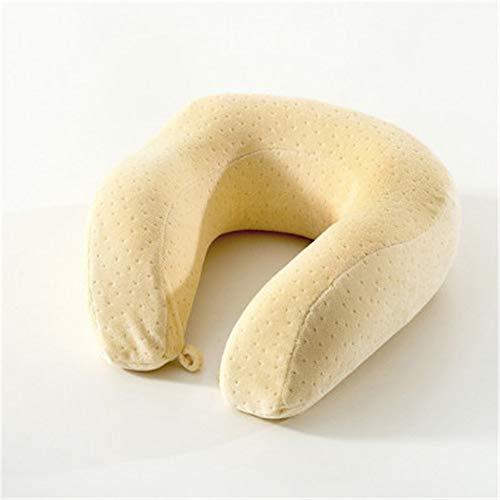 BBQBQ Kissen Office u-Shaped Pillow car Airplane travel Pillow nap Neck Pillow beige 30 * 30cm