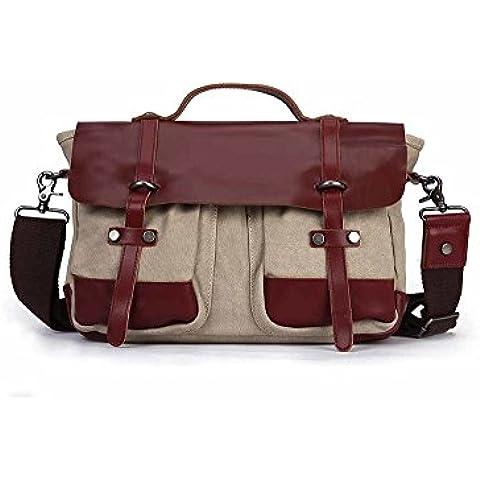 Moda tempo libero singola spalla zaino/Borsa Messenger/ portatile incantesimo in borse da lavoro in pelle Inghilterra