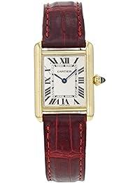 Cartier Tanque Louis Cartier Cuarzo Mujer Reloj W1529856 (Certificado) de Segunda Mano