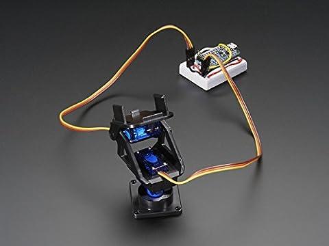 Mini Pan-Tilt Kit - Assembled with Micro