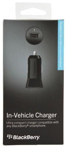 Blackberry ACC-48157-201 1A Micro-USB Kfz Ladegerät schwarz