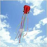 FUNTOK Drachen Kite 2 Arte Oktopus Drachen Single Line und Soft Drachen Doppellinie