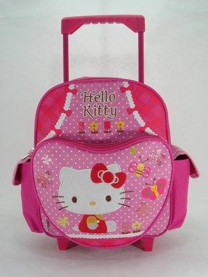 Kleiner Hello Kitty Rucksack Trolley